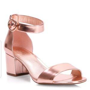 Michael Kors Lena Mid Heel Block Sandal